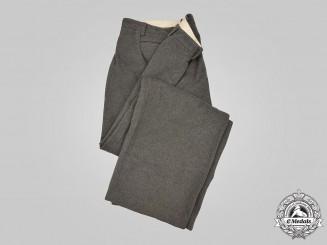 Germany, Heer. A Pair of Heer Officer's Trousers