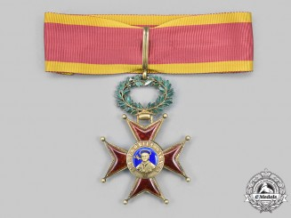 Vatican. An Order of St. Gregory the Great, Civil Division, III Class Commander, c. 1910