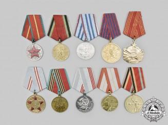 Russia, Soviet Union; Yugoslavia, Socialist Federal Republic; Bulgaria, People's Republic. A Lot of Ten Socialist Awards