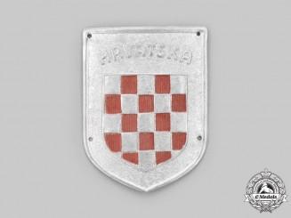 Croatia, Independent State. An Italian-Croatian Legion Badge, c.1940