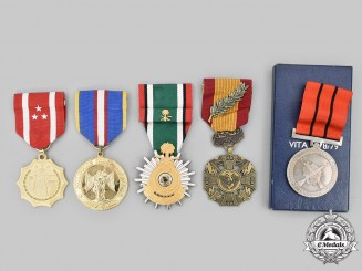 Philippines, Saudi Arabia, Tanzania, Vietnam (South Vietnam). Lot of Five Awards