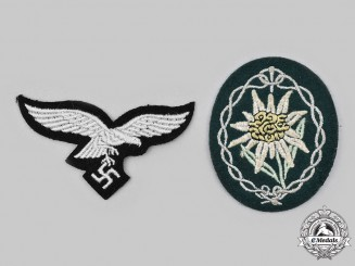 Germany, Wehrmacht. A Pair of Uniform Insignia