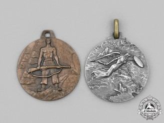 Italy, Kingdom. Two Army Campaign Medals