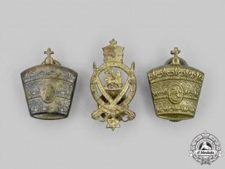 Ethiopia, Kingdom. A Lot of Three Army Badges
