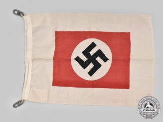 Germany, Kriegsmarine. A Rare Harbour Pilot's Flag