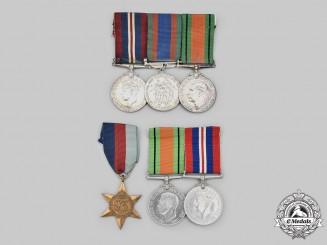 Canada, United Kingdom. A Second War Lot of Six Awards