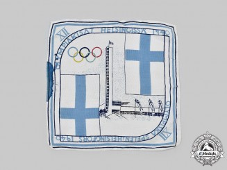 Finland. A 1940 Helsinki Olympic Games Handkerchief