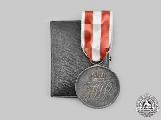 Germany, Prussia. A General Honour Decoration, II Class, with Case