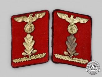 Germany, NSDAP. A Set of Gau-Level Oberabschnittsleiter Collar Tabs