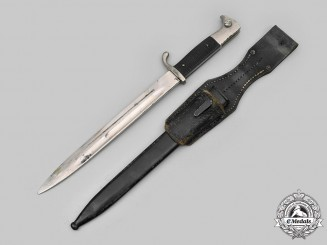 Germany, Heer. A Dress Bayonet with Frog