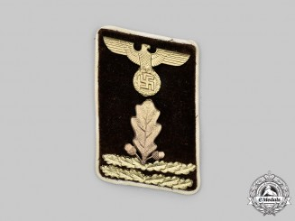 Germany, NSDAP. A Kreis-Level Hauptabschnittsleiter Collar Tab