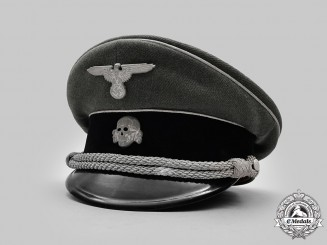 Germany, SS. A Rare Waffen-SS General's Visor Cap