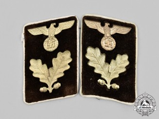 Germany, NSDAP. A Set of Kreis-Level Bereichsleiter Collar Tabs