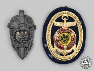Austria-Hungary, Empire. A Pair of Commemorative Badges