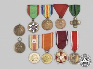 Austria, Belgium, France, Haiti, Poland, Romania, United States. A Lot of Ten Awards