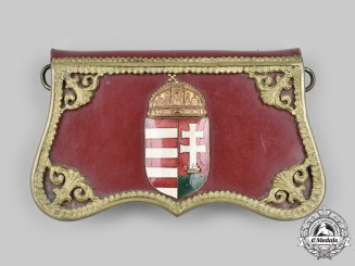 Hungary, KIngdom. A Retired Gendarmerie Officer's Cartridge Pouch c.1928,