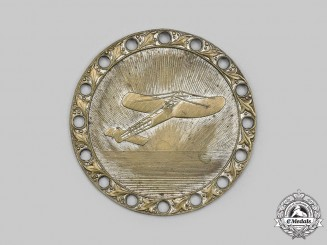 Germany, Weimar Republic. An Early & Scarce Flying Event Badge, c.1910