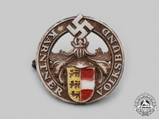 Germany, Third Reich. A Carinthia Volksbund Membership Badge