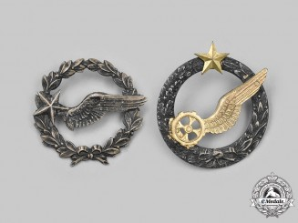 France, III Republic. Two Army of the Air Badges