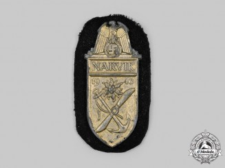 Germany, Kriegsmarine. A Narvik Shield, Kriegsmarine Issue