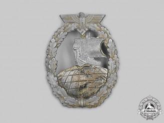 Germany, Kriegsmarine. An Auxiliary Cruiser War Badge, by Steinhauer & Lück