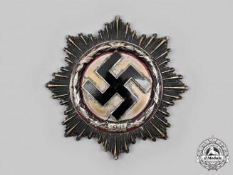 Germany, Wehrmacht. A German Cross in Silver, by Deschler & Sohn