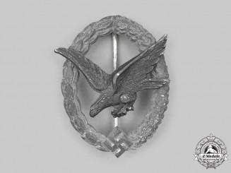 Germany, Luftwaffe. An Air Gunner and Flight Engineer Badge, by Brüder Schneider