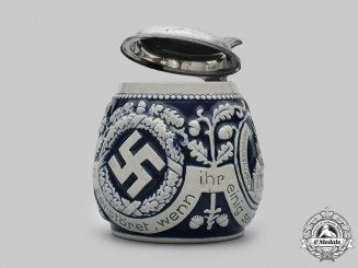 Germany, Third Reich. A Patriotic Stein, by Christian Reck