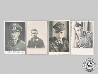 Germany, Wehrmacht. A Lot of Wartime Portraits