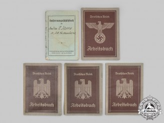 Germany, Third Reich. A Lot of Identity Booklets