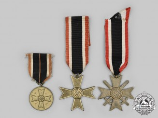 Germany, Wehrmacht. A Lot of War Merit Decorations