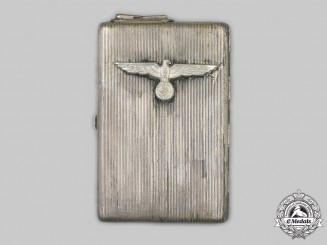 Germany, Wehrmacht. A Unique Combined Trench Art Lighter and Cigarette Case