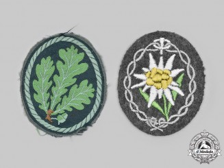 Germany, Heer. A Pair of Sleeve Insignia