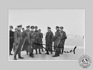 Germany, Wehrmacht. A Wartime Signed Photo of Generalfeldmarschall Erwin Rommel