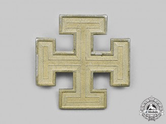 Austria, First Republic. A Fatherland Front Supporter's Badge, by Rudolf Souval