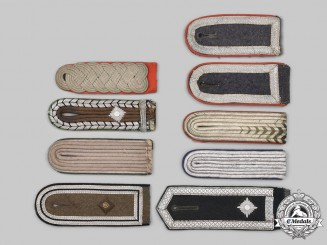 Germany, Wehrmacht. A Mixed Lot of Shoulder Boards