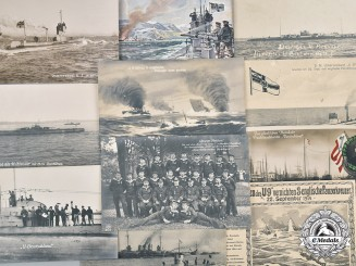 Germany, Imperial. A Lot of U-Boat Postcards