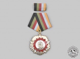 Cuba, Socialist Republic. An Order of Lázaro Peña, II Class