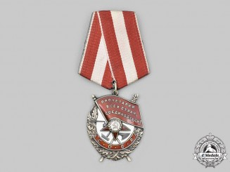 Russia, Soviet Union. An Order of the Red Banner, Type IV