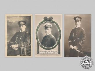 Germany, Imperial. A Lot of Postcards Depicting U-Boat Ace Otto Weddigen