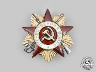 Russia, Soviet Union. An Order of the Patriotic War, I Class, Type III