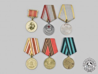Russia, Soviet Union, Federation. A Lot of Six Medals
