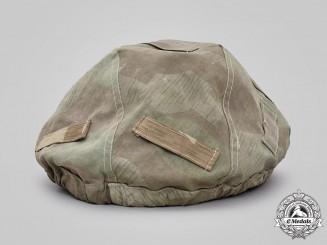 Czechoslovakia. A Steel Helmet Camouflage Cover