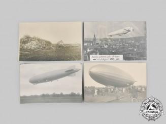 Germany. A Lot of Zeppelin Postcards. c.1910