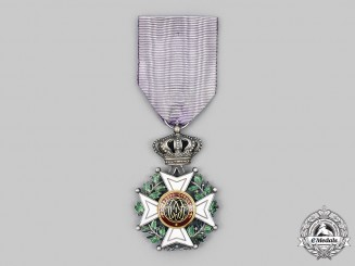 Belgium. An Order of Leopold, Knight, c. 1918