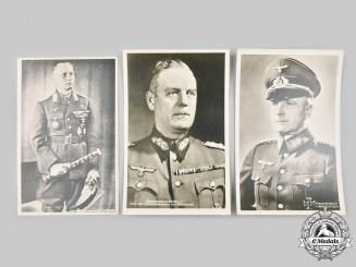 Germany, Wehrmacht. A Lot of Field Marshal Postcards