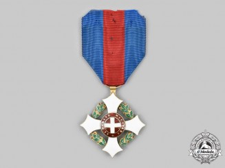 Italy, Kingdom. A Military Order of Savoy, Knight in Gold