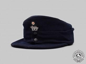 Germany, Feuerschutzpolizei. An EM/NCO's Visored Field Cap