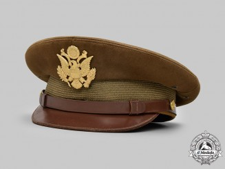 United States. An Army Service Cap for General Officers, Named to Lieutenant Colonel Edward Southward Robbins