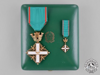 Italy, Republic. An Order of Merit of the Italian Republic, V Class Knight, c.1960